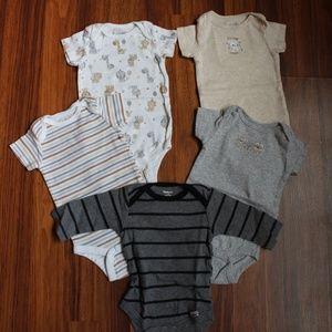 Baby Boy onesie lot